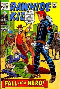 Cover Thumbnail for The Rawhide Kid (Marvel, 1960 series) #80