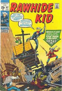 Cover Thumbnail for The Rawhide Kid (Marvel, 1960 series) #82