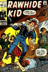 Cover for The Rawhide Kid (Marvel, 1960 series) #85