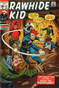 Cover for The Rawhide Kid (Marvel, 1960 series) #87