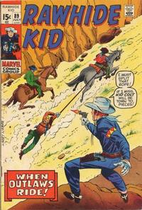 Cover Thumbnail for The Rawhide Kid (Marvel, 1960 series) #89