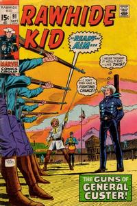Cover Thumbnail for The Rawhide Kid (Marvel, 1960 series) #91
