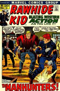 Cover for The Rawhide Kid (Marvel, 1960 series) #99