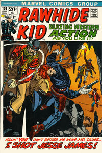 Cover Thumbnail for The Rawhide Kid (Marvel, 1960 series) #101