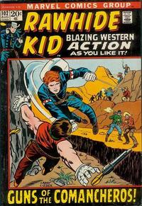 Cover Thumbnail for The Rawhide Kid (Marvel, 1960 series) #102