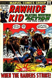 Cover Thumbnail for The Rawhide Kid (Marvel, 1960 series) #106