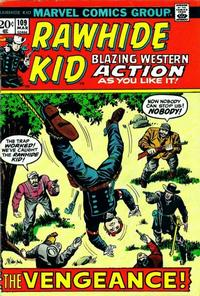 Cover for The Rawhide Kid (Marvel, 1960 series) #109