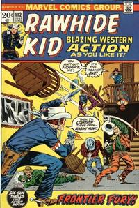 Cover Thumbnail for The Rawhide Kid (Marvel, 1960 series) #112