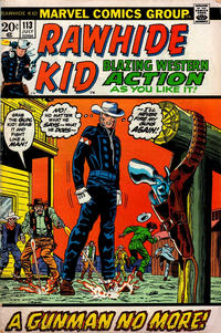 Cover Thumbnail for The Rawhide Kid (Marvel, 1960 series) #113