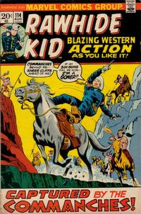 Cover Thumbnail for The Rawhide Kid (Marvel, 1960 series) #114