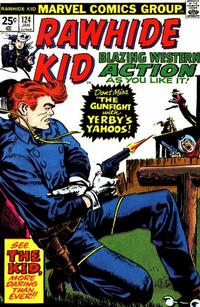 Cover Thumbnail for The Rawhide Kid (Marvel, 1960 series) #124
