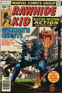 Cover for The Rawhide Kid (Marvel, 1960 series) #143