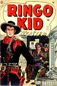 Cover Thumbnail for The Ringo Kid Western (Marvel, 1954 series) #1