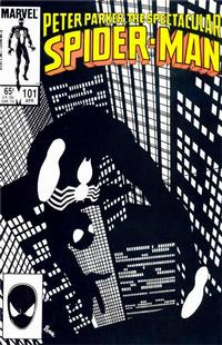 Cover Thumbnail for The Spectacular Spider-Man (Marvel, 1976 series) #101 [Direct]