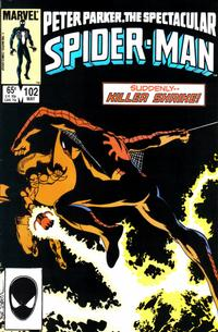 Cover Thumbnail for The Spectacular Spider-Man (Marvel, 1976 series) #102 [Direct]