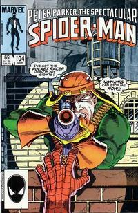 Cover Thumbnail for The Spectacular Spider-Man (Marvel, 1976 series) #104 [direct]