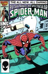 Cover for The Spectacular Spider-Man (Marvel, 1976 series) #114 [direct]