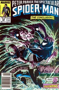 Cover Thumbnail for The Spectacular Spider-Man (Marvel, 1976 series) #132 [Newsstand]