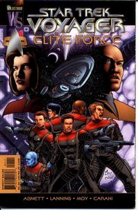 Cover Thumbnail for Star Trek: Voyager -- Elite Force (DC, 2000 series) #1 [Direct Sales]