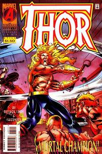 Cover for Thor (Marvel, 1966 series) #495