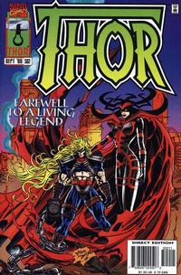 Cover Thumbnail for Thor (Marvel, 1966 series) #502 [Direct Edition]