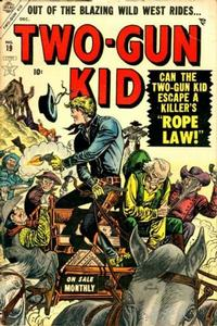 Cover Thumbnail for Two Gun Kid (Marvel, 1953 series) #19