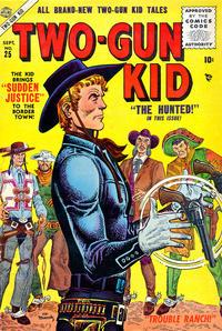 Cover Thumbnail for Two Gun Kid (Marvel, 1953 series) #25