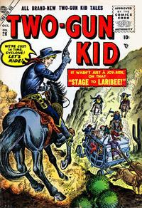Cover Thumbnail for Two Gun Kid (Marvel, 1953 series) #26