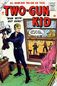 Cover Thumbnail for Two Gun Kid (Marvel, 1953 series) #40