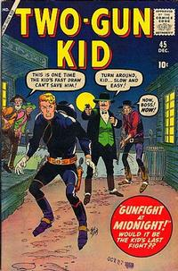 Cover Thumbnail for Two Gun Kid (Marvel, 1953 series) #45