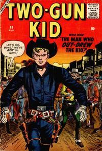 Cover Thumbnail for Two Gun Kid (Marvel, 1953 series) #49