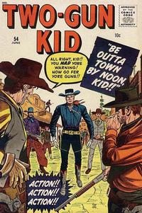 Cover Thumbnail for Two Gun Kid (Marvel, 1953 series) #54