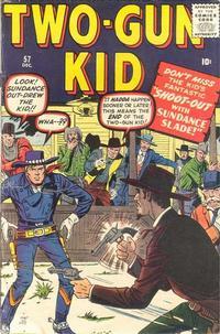 Cover Thumbnail for Two Gun Kid (Marvel, 1953 series) #57