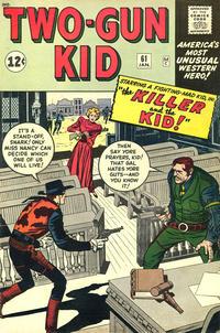 Cover Thumbnail for Two Gun Kid (Marvel, 1953 series) #61