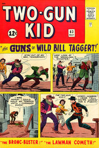 Cover Thumbnail for Two Gun Kid (Marvel, 1953 series) #63