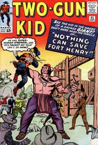 Cover Thumbnail for Two Gun Kid (Marvel, 1953 series) #65