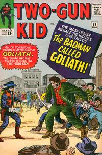 Cover Thumbnail for Two Gun Kid (Marvel, 1953 series) #69