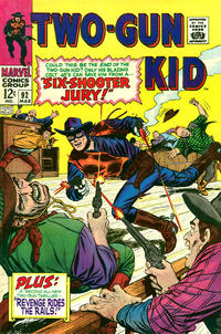 Cover Thumbnail for Two Gun Kid (Marvel, 1953 series) #92