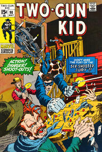 Cover Thumbnail for Two Gun Kid (Marvel, 1953 series) #98