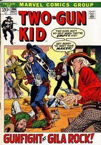 Cover Thumbnail for Two Gun Kid (Marvel, 1953 series) #104