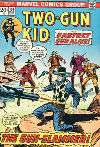 Cover Thumbnail for Two Gun Kid (Marvel, 1953 series) #109