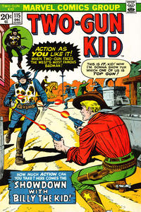 Cover Thumbnail for Two Gun Kid (Marvel, 1953 series) #115