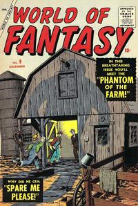 Cover Thumbnail for World of Fantasy (Marvel, 1956 series) #9