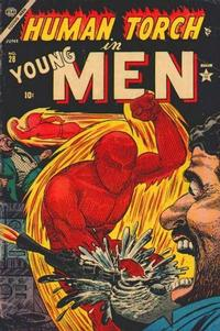 Cover Thumbnail for Young Men (Marvel, 1953 series) #28