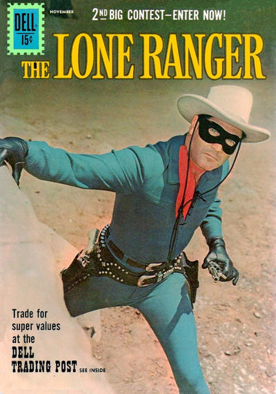 Cover for The Lone Ranger (Dell, 1948 series) #142