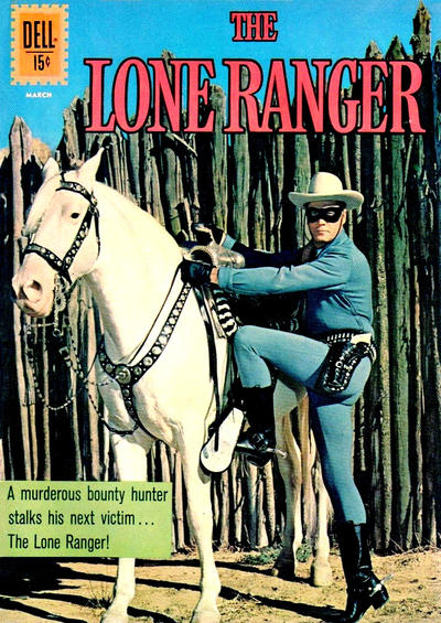 Cover for The Lone Ranger (Dell, 1948 series) #144