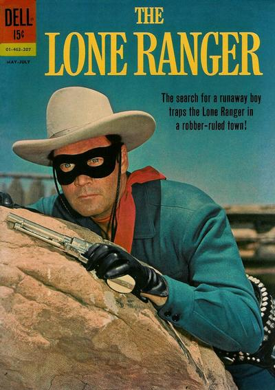 Cover for The Lone Ranger (Dell, 1948 series) #145