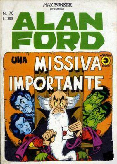 Cover for Alan Ford (Editoriale Corno, 1969 series) #78