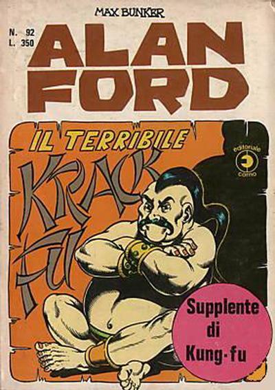 Cover for Alan Ford (Editoriale Corno, 1969 series) #92