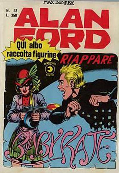 Cover for Alan Ford (Editoriale Corno, 1969 series) #93